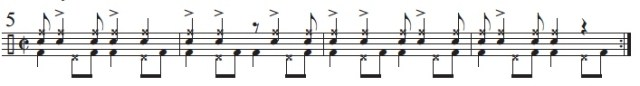 Syncopation Revisited Brazilian Applications 7