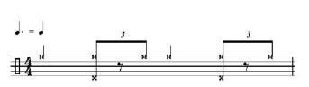 Rhythmic Transition Examples 8