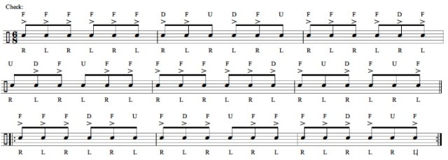 Rhythm and Timing 8th-Note Triplets 2