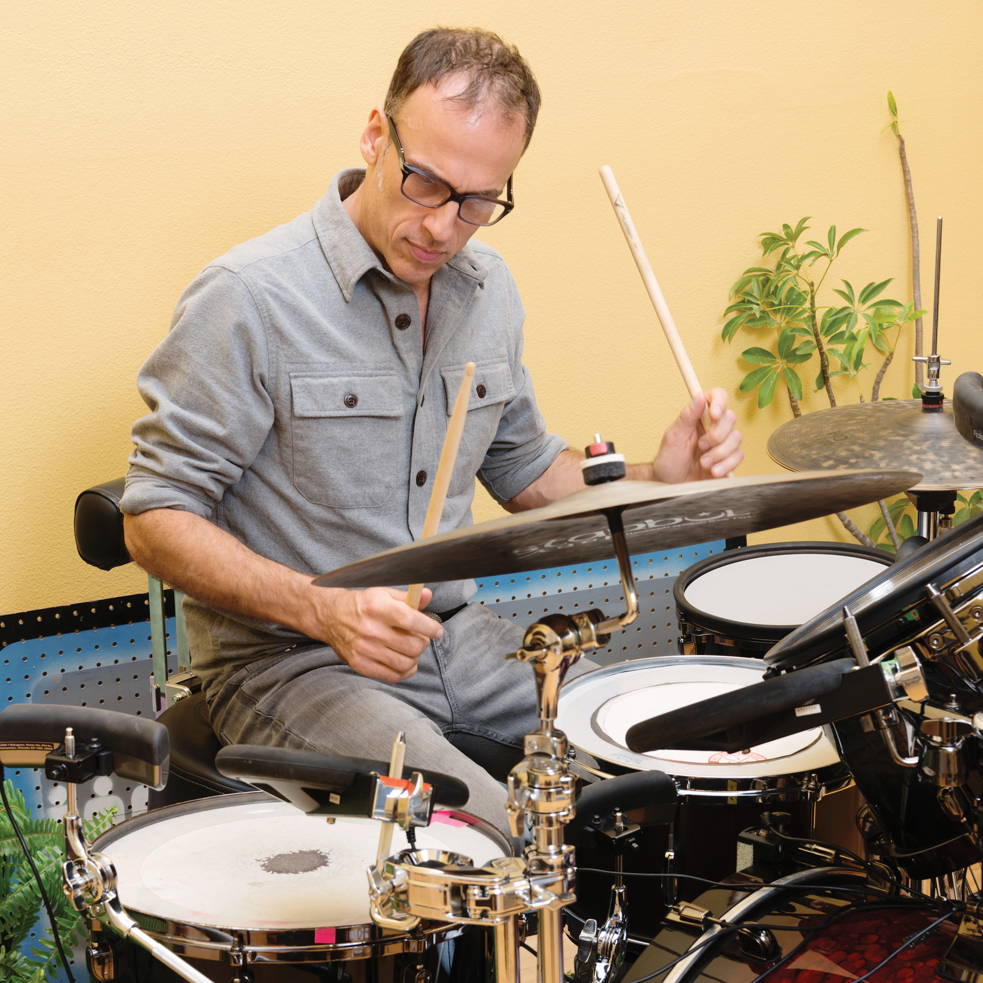 St  Vincent's Matt Johnson - Modern Drummer Magazine