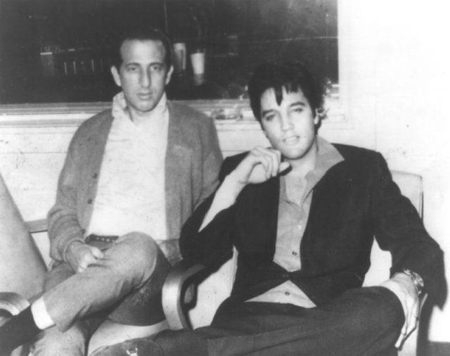 DJ Fontana with Elvis