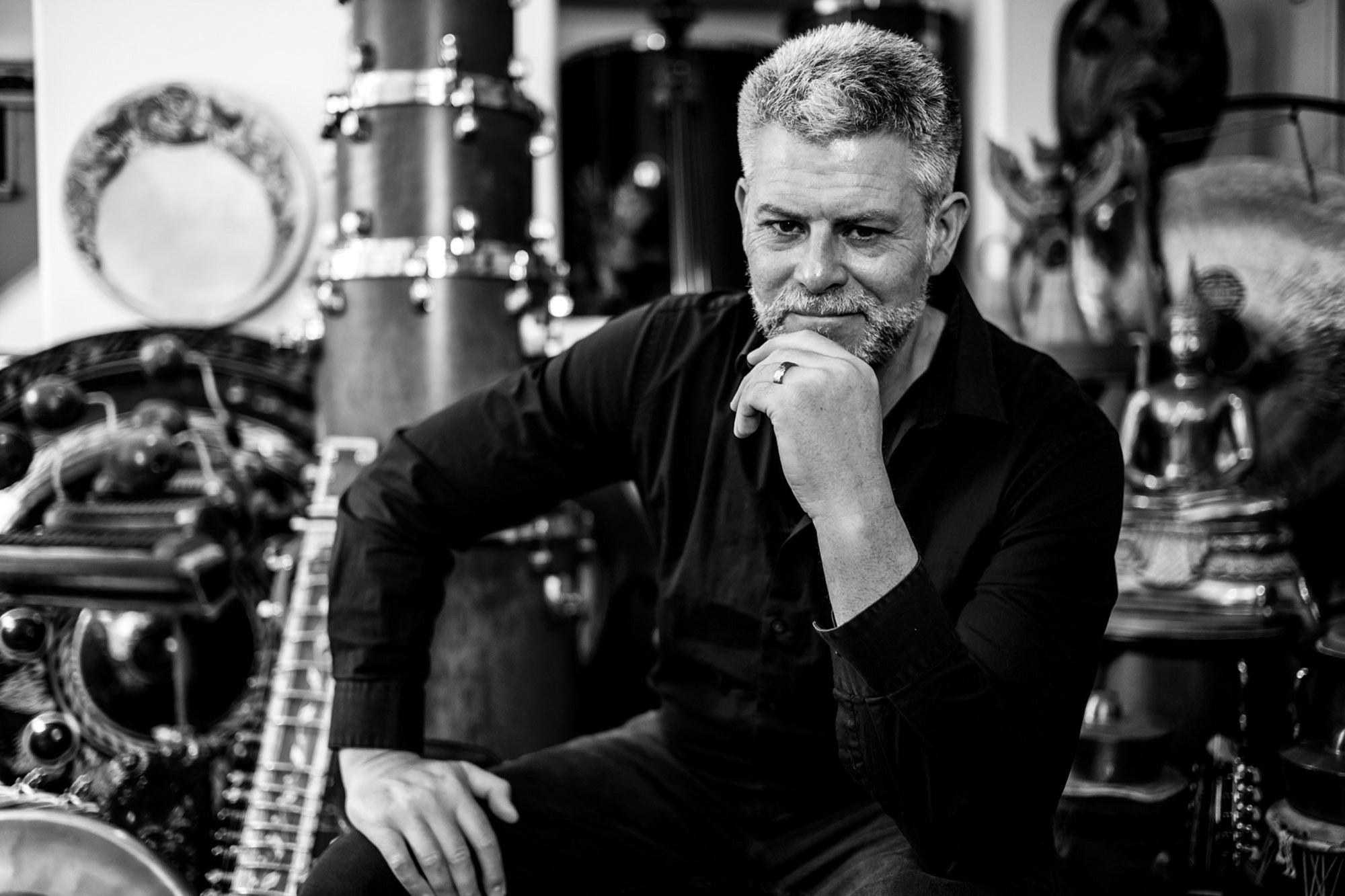 Barrett Martin - Modern Drummer Magazine