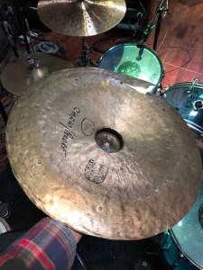 Fred Eltringham cymbal