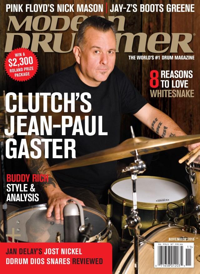 Jan Delay's Jost Nickel - Modern Drummer Magazine