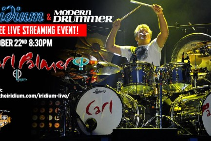 Carl Palmer Live Streaming Event