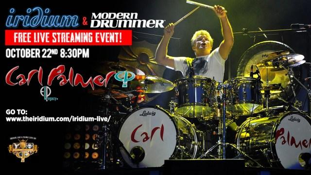 Carl Palmer Live Streaming Event