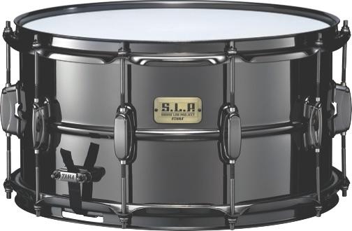 Tama Big Black Steel snare drum