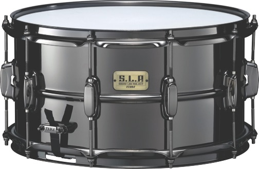 Tama Big Black Steel snare drum