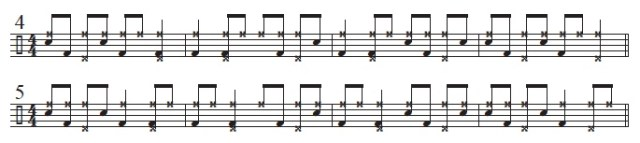 Bebop Syncopation 3