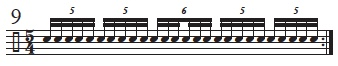 Musical Palindromes 9