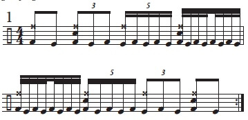 """Golden Measures"" and Fibonacci Rhythms 1"