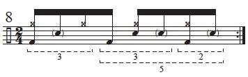 """Golden Measures"" and Fibonacci Rhythms 10"