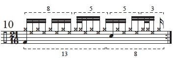 """Golden Measures"" and Fibonacci Rhythms 12"