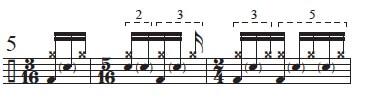 """Golden Measures"" and Fibonacci Rhythms 6"