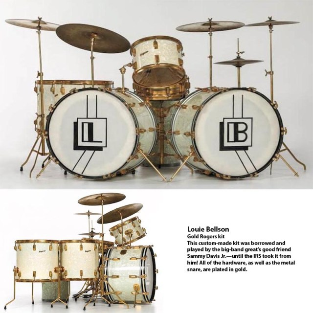 Louie Bellson kit