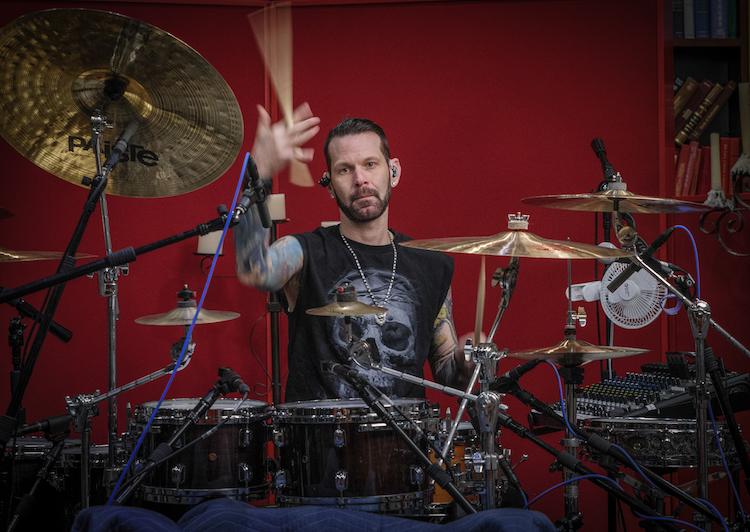 Chad Szeliga of Black Star Riders   Modern Drummer Magazine