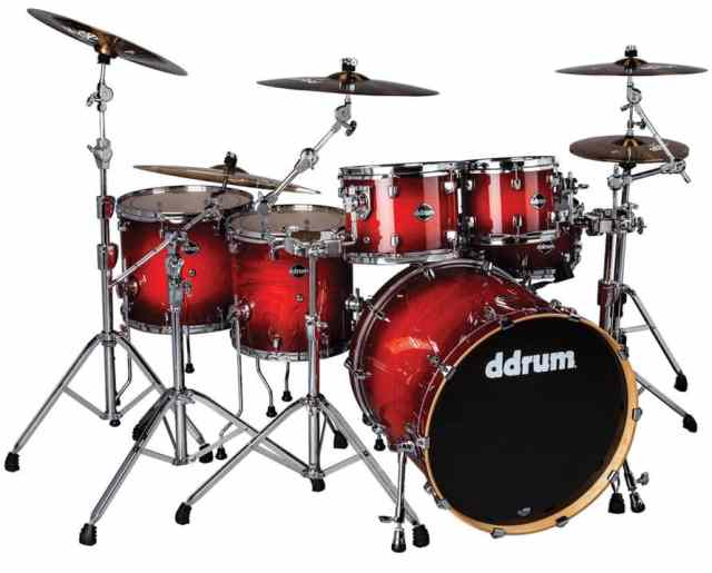 ddrum Dominion Ash Six-Piece Shell Pack