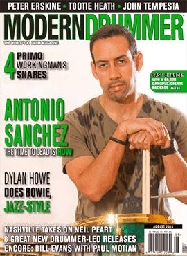 Antonio Sanchez Cover
