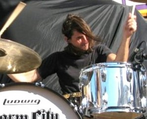 Drummer Jason Heiser of Charm City Devils