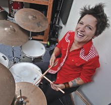 Drummer Allison Miller: Freedom Jazz-Folk-Pop-Rock Dance