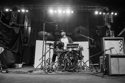 Drummer Blog: Fictionist's Aaron Anderson on Being a Left-Handed Player in a Right-Handed World