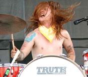 Aaron R. Gillespie of Underoath drummer blog
