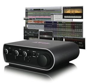 Avid Pro Tools Mbox Mini 3qtr Modern Drummer