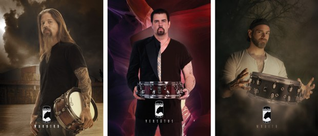 Showroom: Top Mapex Artists Create New Sounds for Black Panther Snare Drums