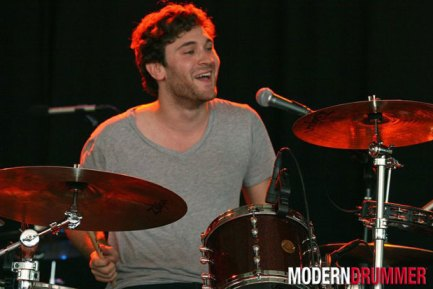 Drummer Billy Cadden of the Postelles