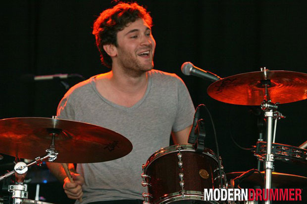 Drummer Billy Cadden of the Postelles