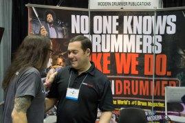 Drummer Jason Bittner and Ad Director Bob Berenson