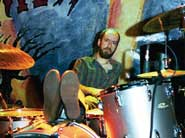 Drummer Brad Morgan of Drive-By Truckers