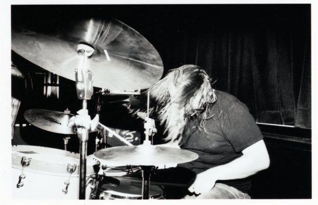 """drummer Brett """"the Ratt"""" Romnes of I Am the Avalanche"""