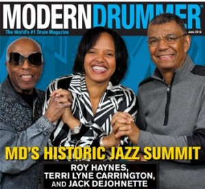 June 2012 Issue of Modern Drummer Magazine