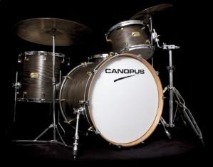 Canopus Ash Standard Drumset