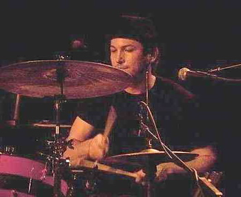 Drummer Chris Smith of AM Taxi