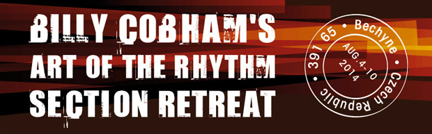 "Fusion Great Billy Cobham's ""Art of the Rhythm Section"" Retreat, August 2014"