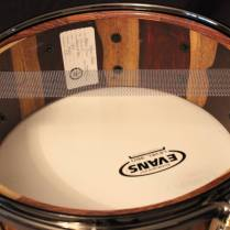 Coco, Showroom: Bucks County Drums' Unique Semi-Solid Drum Shell