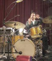 Drummer John Convertino of Calexico