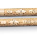 Diamondback Drumsticks Combine Laser-Engraved Handles With Premium-Grade Hickory Sticks