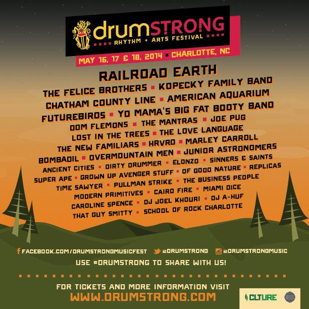 Drumstrong Poster