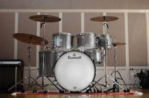 Dunnett Classic Drums: Titanium Drumset