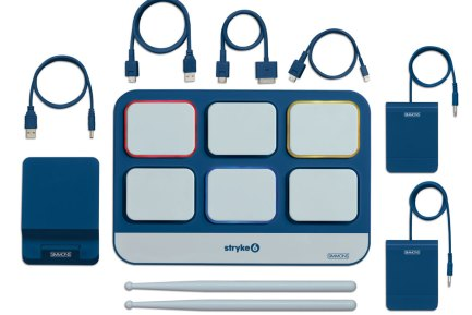 Simmons Introduces Stryke6 iPad Drum Controller