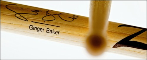 Win a Ginger Baker Prize Package Sticks