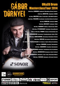 """Drummer Blog: Gabor """"Gabs"""" Dornyei on Touring and Being True to Yourself"""
