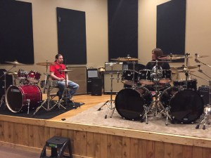 News: Moore Music Welcomed Back Metal Drummer Shawn Drover for Two Days of Lessons and a Clinic