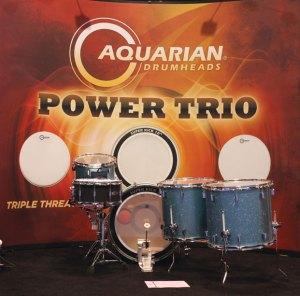 "Aquarian's new ""Power Trio"""