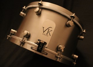 VK Drums Offers Hand-Built Drums