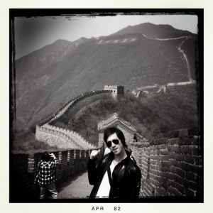 Brendan Buckley Drummer Blog - Another brick in the Great Wall