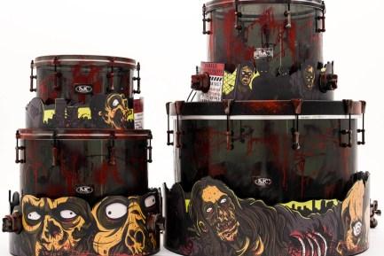 SJC Custom Zombie-Theme Kit